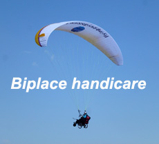 Biplace Handicare