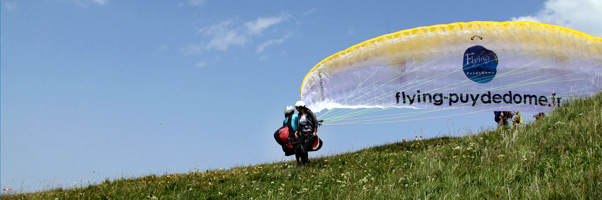 Decollage Parapente Biplace