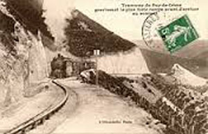 train puy de dome 1907