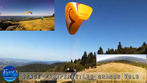 Video stage parapente