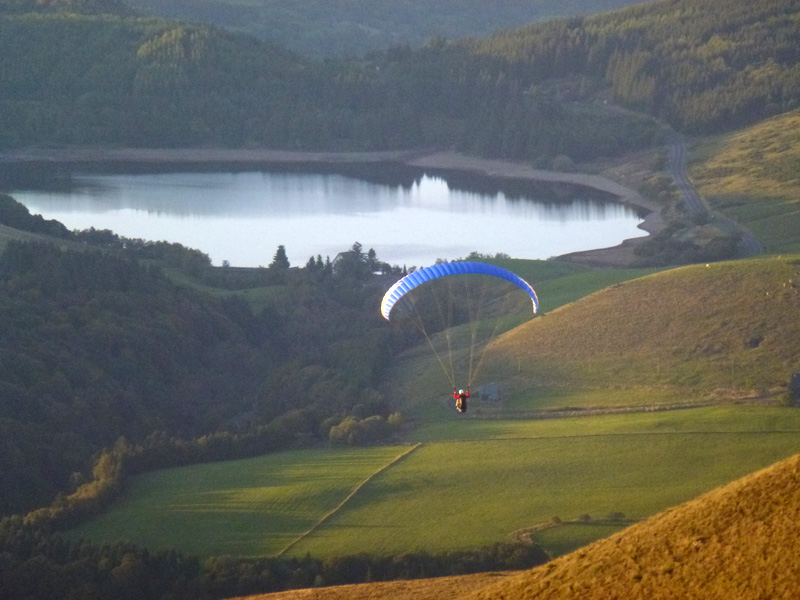 Carnet 10 Vols Flying Puy De Dome Ecole Parapente Grand Vol Stage Lac Auvergne