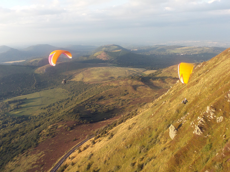 Parapente Inititiation avec Flying Puy De Dome