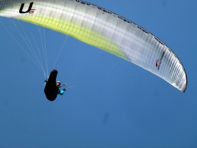 Flying Puy De Dome Parapente U 6 Aircross