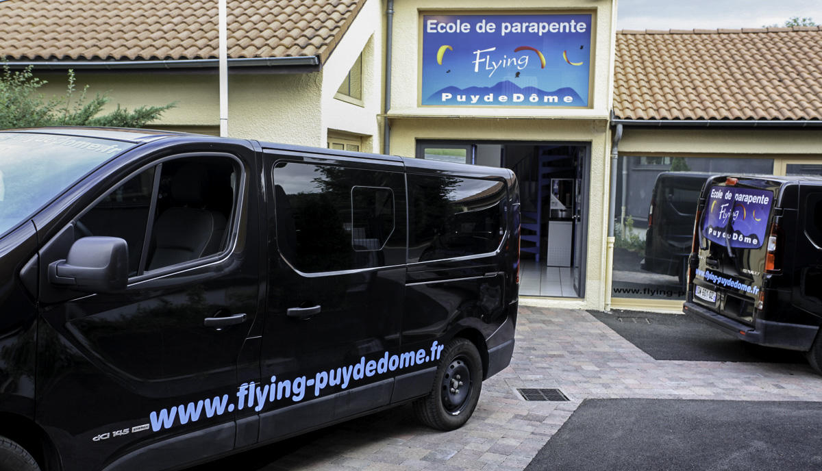 Local Flying Puy de Dome